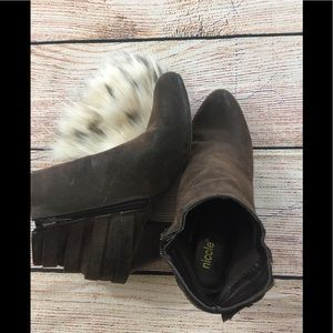 Nicole women's ankle boots size 8.5